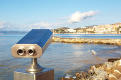 Coin operated viewer Royalty Free Stock Images
