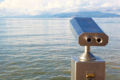 Coin operated viewer Stock Photos