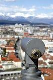 Viewfinder telescope Stock Photo