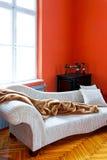 Coin orange image libre de droits