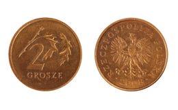 Coin of poland Stock Photo