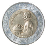 Coin Portuguese escudo Royalty Free Stock Photo