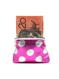 Coin Purse Royalty Free Stock Images