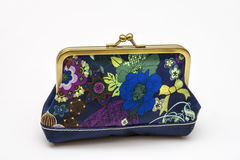 Coin purse royalty free stock photo