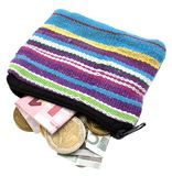 Coin purse Stock Image