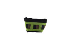 Coin purse  on isolated white background Royalty Free Stock Images