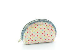 Coin purse isolated on white background Stock Images