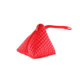 Coin purse on isolated white background Stock Images