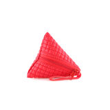 Coin purse on isolated white background Stock Photography