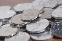Coin Rupiah - Indonesian Money Royalty Free Stock Image