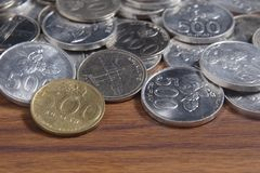 Coin Rupiah - Indonesian Money Stock Images