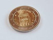 Coin from San Marino Royalty Free Stock Photo