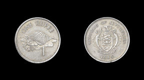 Coin of Seychelles Stock Images