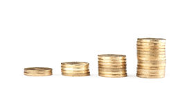 Coin Stack Stock Photography