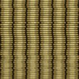 Coin stack seamless generated texture Royalty Free Stock Image