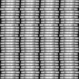 Coin stack seamless generated texture Stock Photos