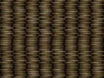 Coin stack seamless generated texture Stock Photo