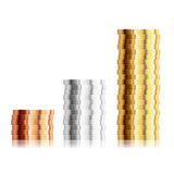 Coin Stacks Stock Images