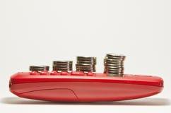 Coin stacks Stock Photos