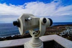 Coin Telescope Royalty Free Stock Photo