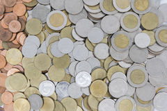 Coin Thai Background Royalty Free Stock Images