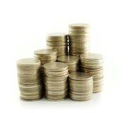 Coin thai bath Stock Photography