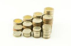 Coin thai bath Royalty Free Stock Photo