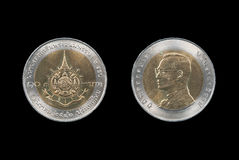 Coin of Thailand Royalty Free Stock Photography