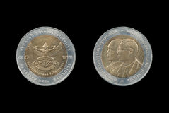 Coin of Thailand Royalty Free Stock Photo
