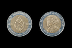 Coin of Thailand Royalty Free Stock Images