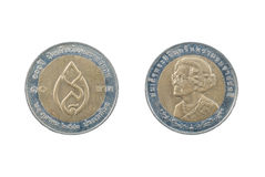 Coin of Thailand Stock Image