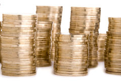 Coin tower Royalty Free Stock Photos