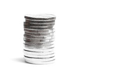 Coin tower Stock Photo