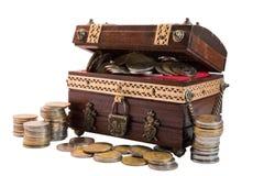 Coin treasure Royalty Free Stock Image