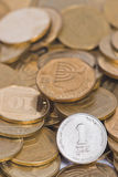 Coin treasure Stock Image