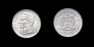 Coin of Venezuela Stock Photo