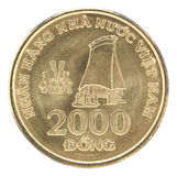 Coin Vietnam 2000 Dong Royalty Free Stock Images