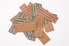 Coin wrappers Stock Image