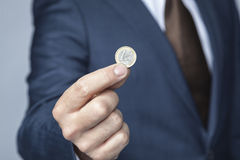 Coin for you Royalty Free Stock Photos