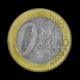 Coin Zero Royalty Free Stock Photos