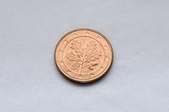 coin1 ευρώ Στοκ Εικόνες
