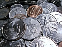 Coinage Stock Photography