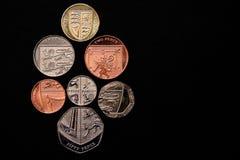 coinage 2008 Arkivbild