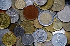coines διεθνή Στοκ Φωτογραφίες