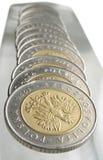 Coins. /Poland royalty free stock photos