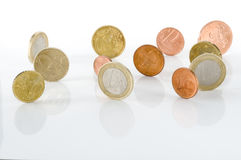 Coins. Isolated on white background Stock Image