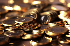 Coins. Group of coins business money Royalty Free Stock Photo