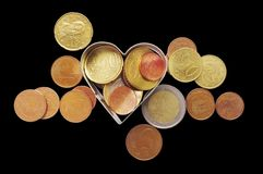 Coins. Royalty Free Stock Photography