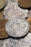 The coins Royalty Free Stock Photos