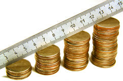 Coins. Stock Images